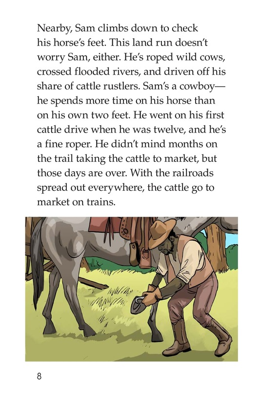 Book Preview For The Great Land Run Page 8
