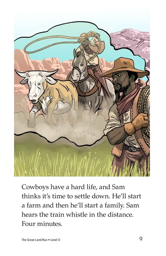 Book Preview For The Great Land Run Page 9