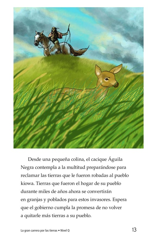 Book Preview For The Great Land Run Page 13