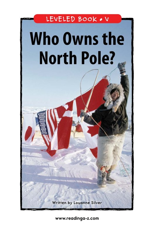Book Preview For Who Owns the North Pole? Page 1