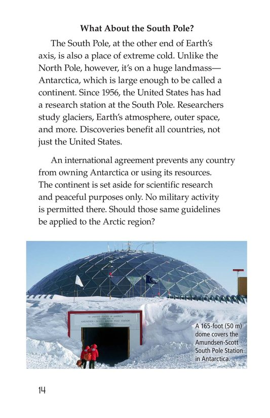Book Preview For Who Owns the North Pole? Page 14
