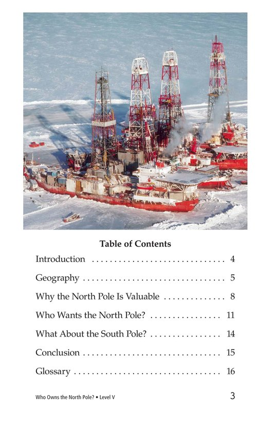 Book Preview For Who Owns the North Pole? Page 3