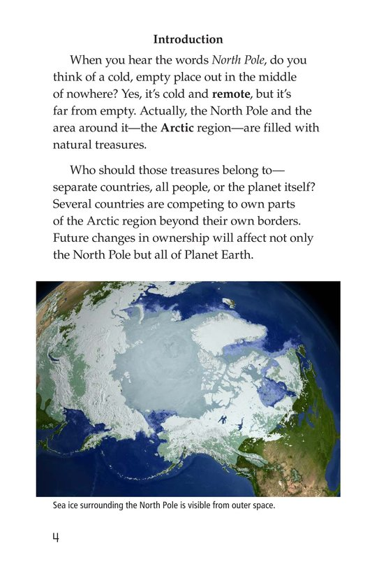 Book Preview For Who Owns the North Pole? Page 4