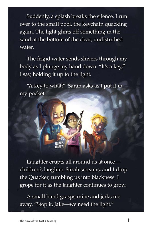 Book Preview For The Cave of the Lost Page 11