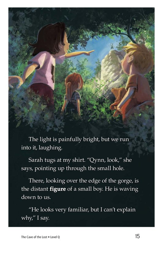 Book Preview For The Cave of the Lost Page 15