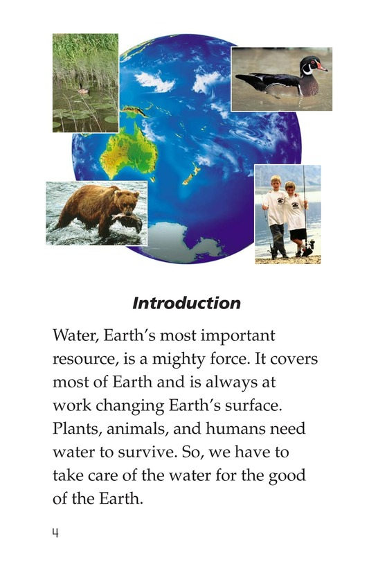 Book Preview For The Force of Water Page 4
