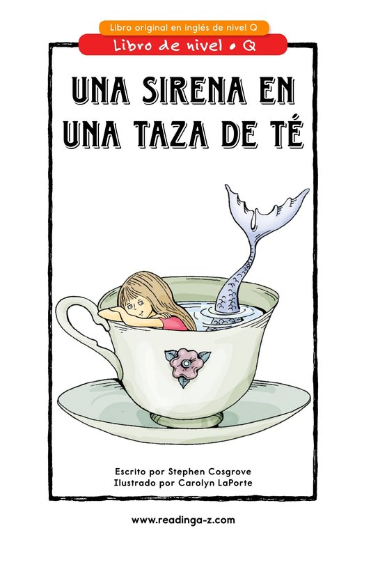 Book Preview For Mermaid in a Teacup Page 1