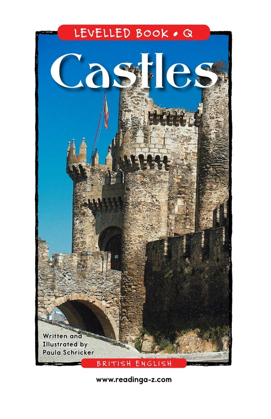 Book Preview For Castles Page 1
