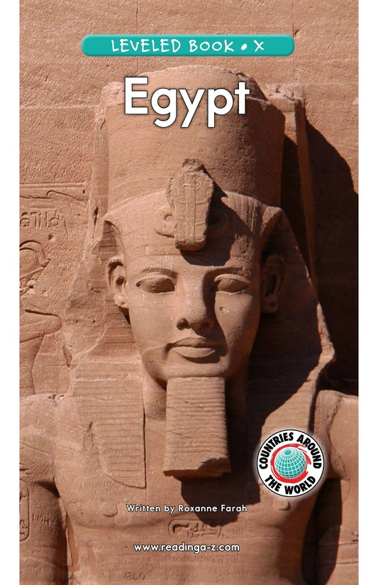Book Preview For Egypt Page 1
