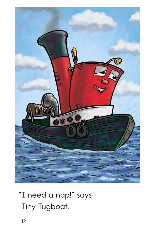 Book Preview For Tiny Tugboat Page 12