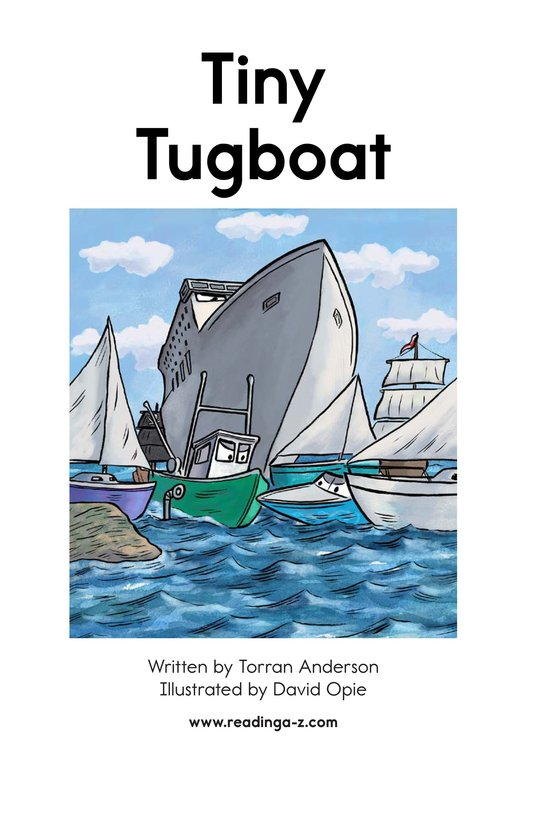 Book Preview For Tiny Tugboat Page 2