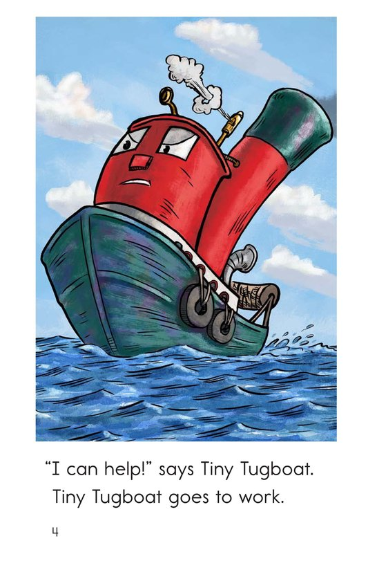 Book Preview For Tiny Tugboat Page 4
