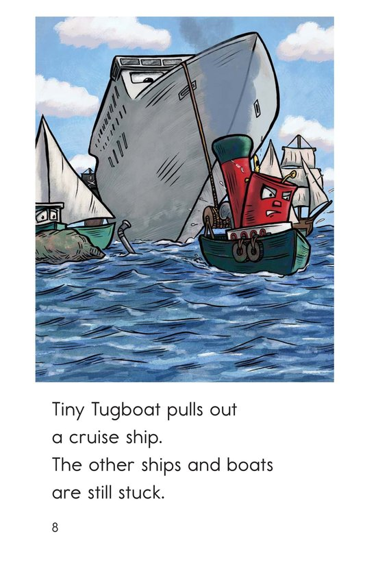 Book Preview For Tiny Tugboat Page 8