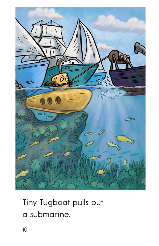 Book Preview For Tiny Tugboat Page 10