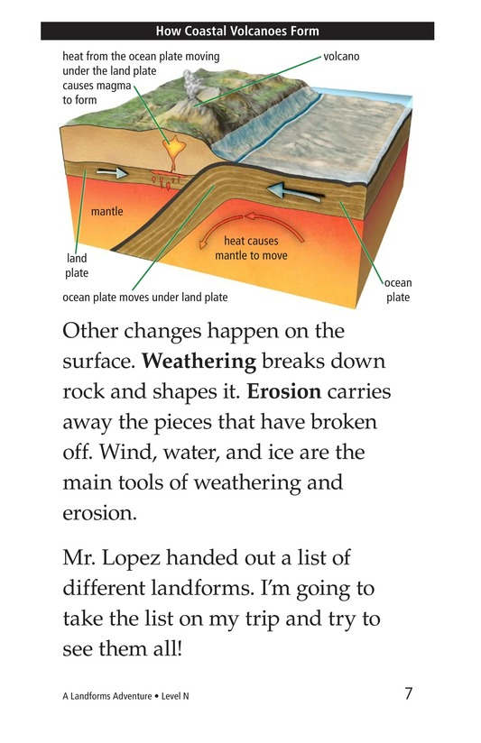 Book Preview For A Landforms Adventure Page 7