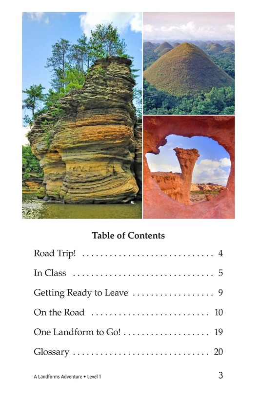 Book Preview For A Landforms Adventure Page 3