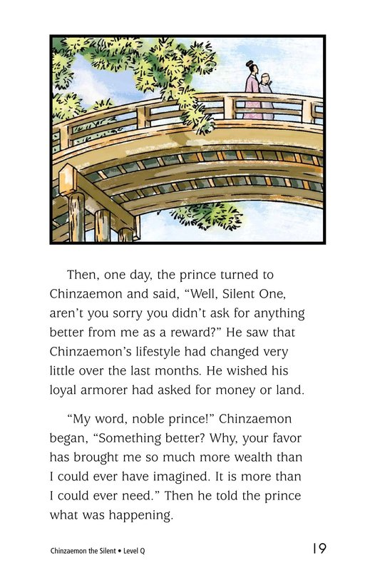 Book Preview For Chinzaemon the Silent Page 19