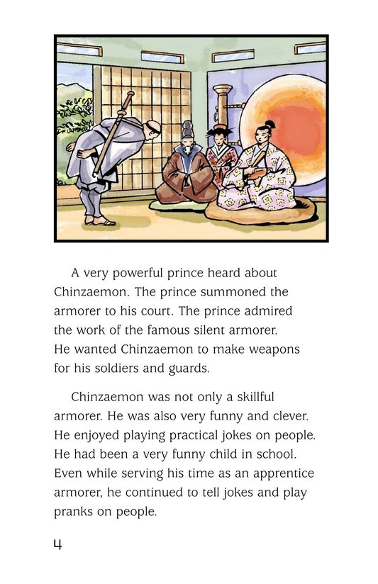 Book Preview For Chinzaemon the Silent Page 4