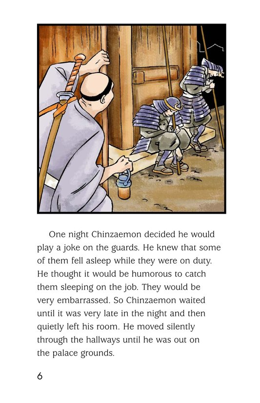 Book Preview For Chinzaemon the Silent Page 6