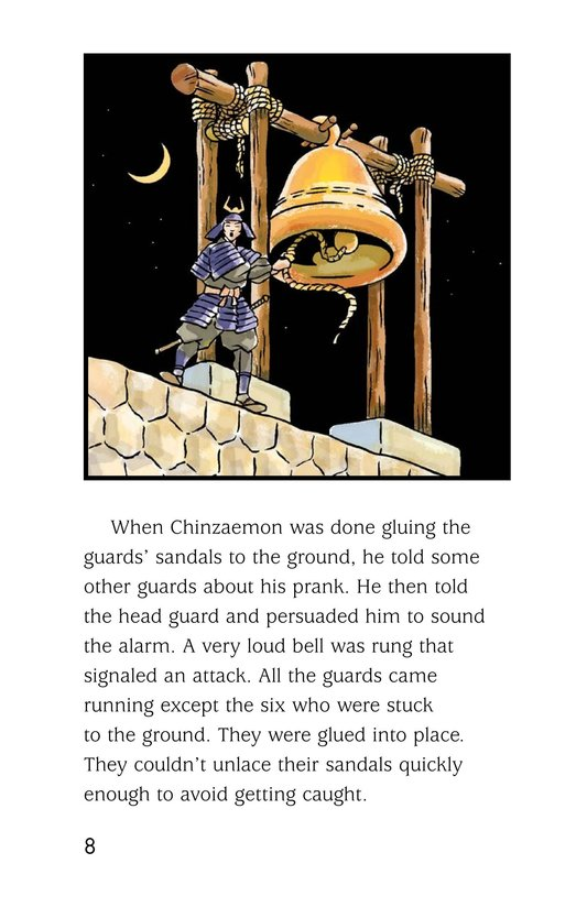 Book Preview For Chinzaemon the Silent Page 8