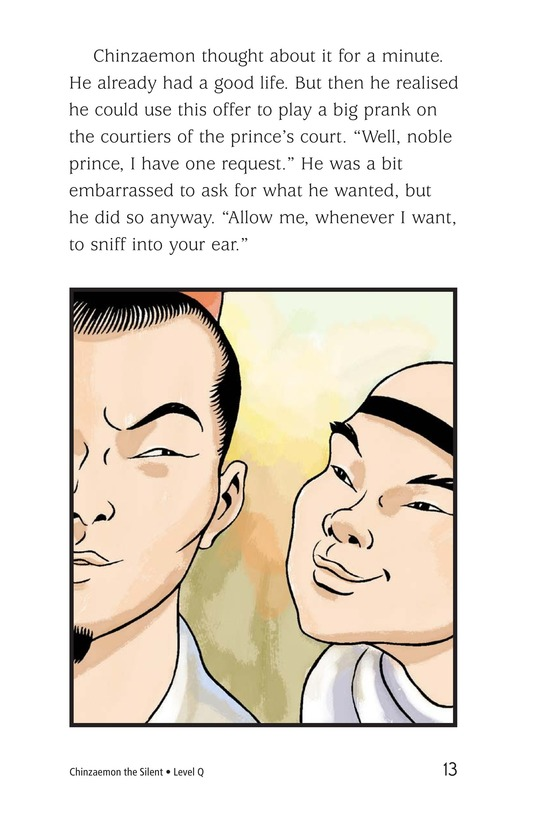 Book Preview For Chinzaemon the Silent Page 13