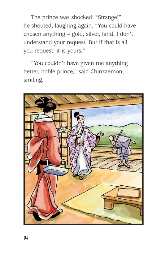 Book Preview For Chinzaemon the Silent Page 14