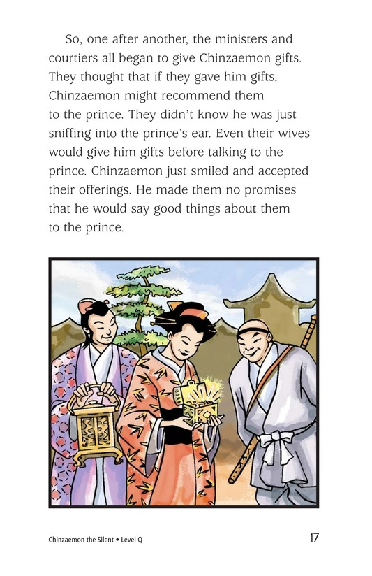 Book Preview For Chinzaemon the Silent Page 17