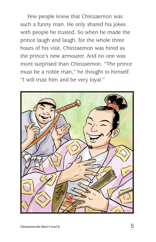 Book Preview For Chinzaemon the Silent Page 5