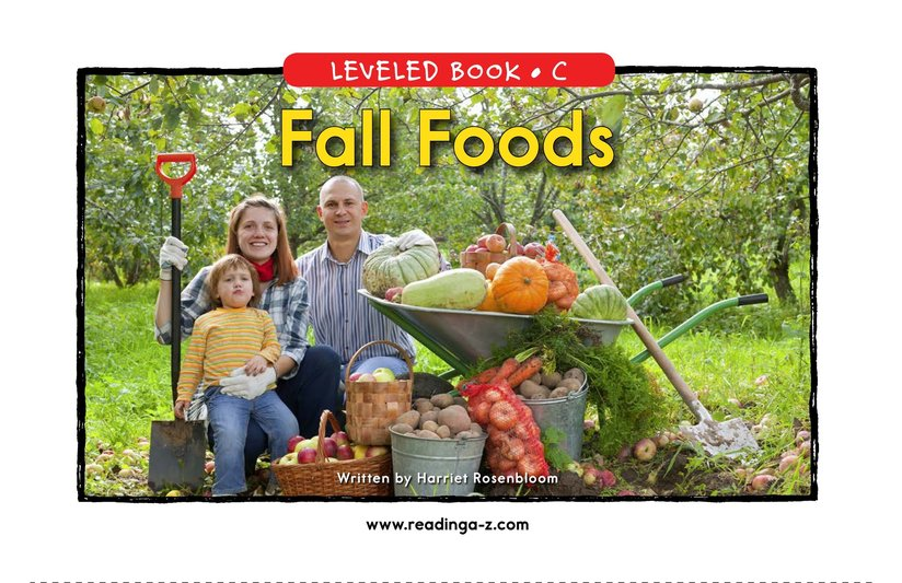 Book Preview For Fall Foods Page 1