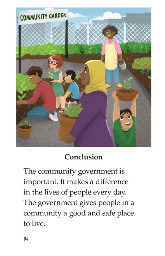Book Preview For Community Government Page 14