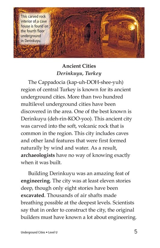 Book Preview For Underground Cities Page 5