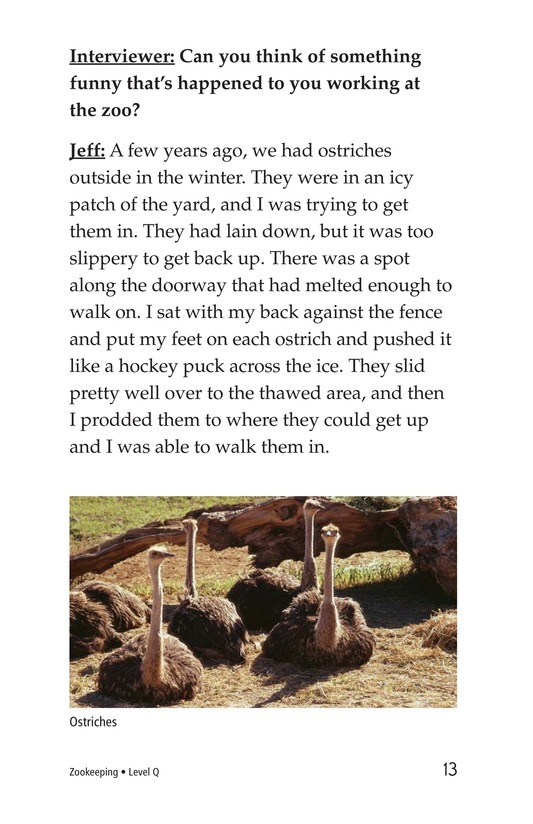 Book Preview For Zookeeping Page 13