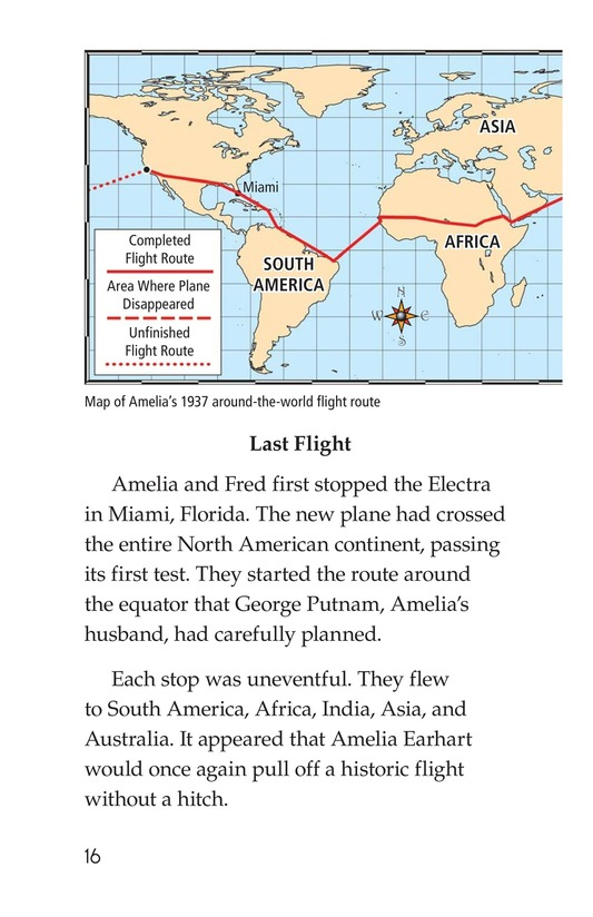Book Preview For Amelia Earhart: A Legend in Flight Page 16