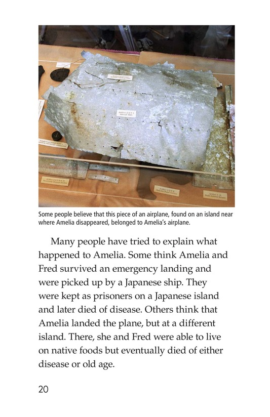 Book Preview For Amelia Earhart: A Legend in Flight Page 20