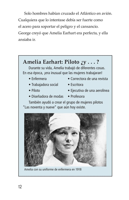 Book Preview For Amelia Earhart: A Legend in Flight Page 12