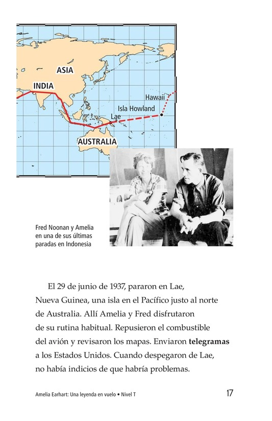Book Preview For Amelia Earhart: A Legend in Flight Page 17