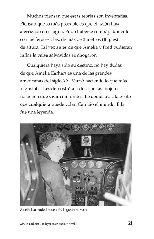 Book Preview For Amelia Earhart: A Legend in Flight Page 21