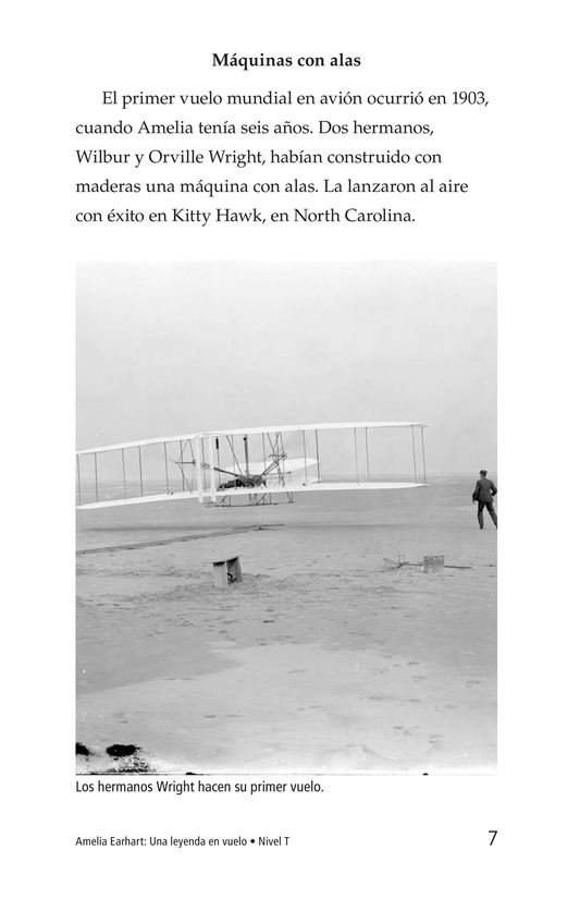 Book Preview For Amelia Earhart: A Legend in Flight Page 7