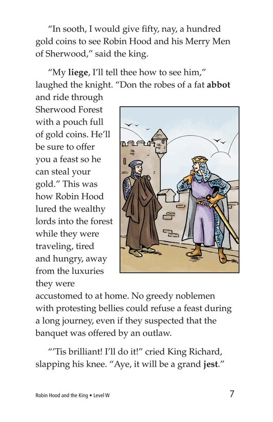 Book Preview For Robin Hood and the King Page 7