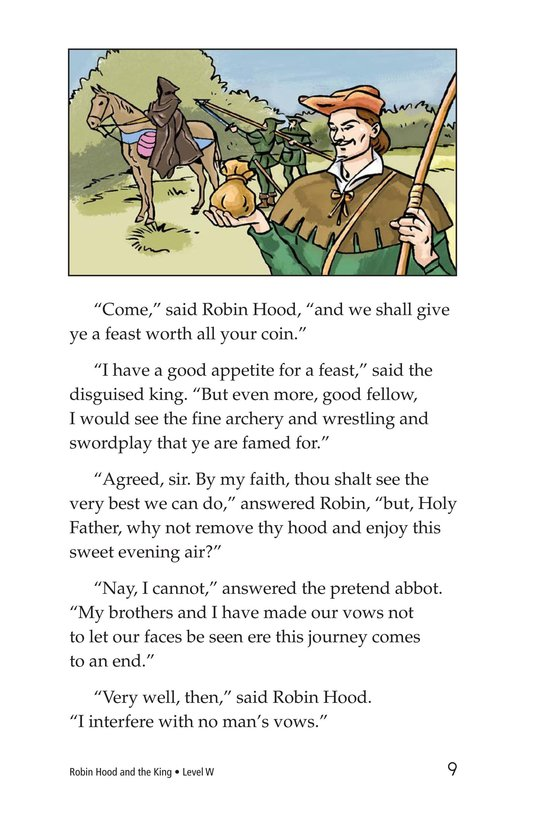 Book Preview For Robin Hood and the King Page 9