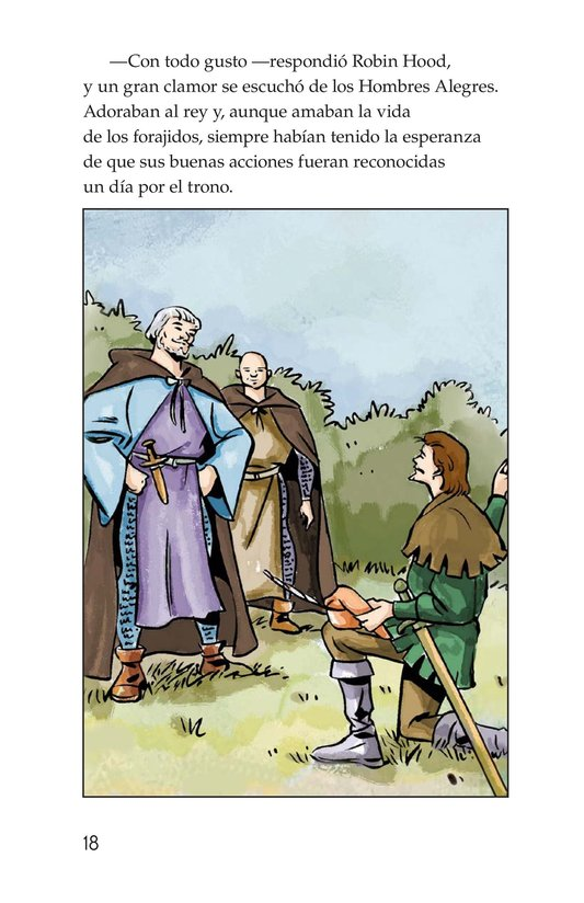 Book Preview For Robin Hood and the King Page 18