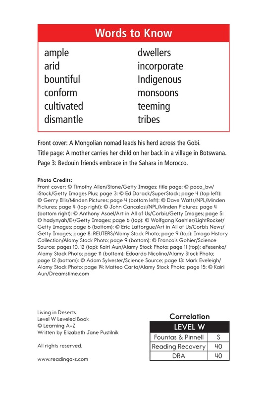 Book Preview For Desert People Page 2
