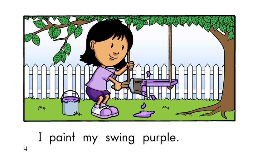 Book Preview For Paint It Purple Page 4