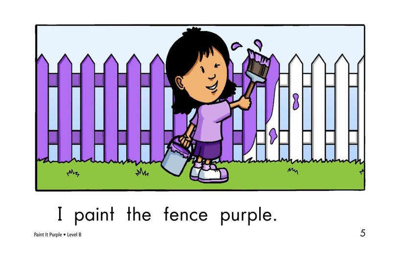 Book Preview For Paint It Purple Page 5