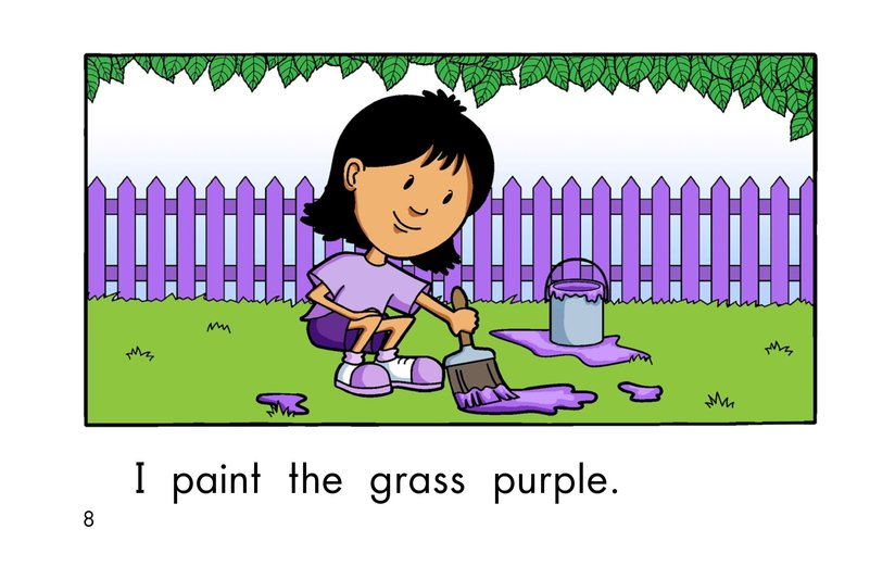 Book Preview For Paint It Purple Page 8