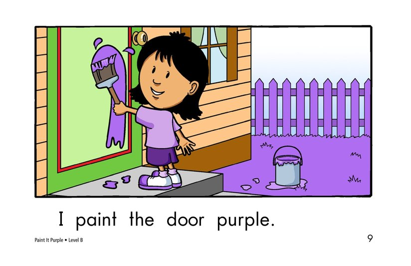 Book Preview For Paint It Purple Page 9