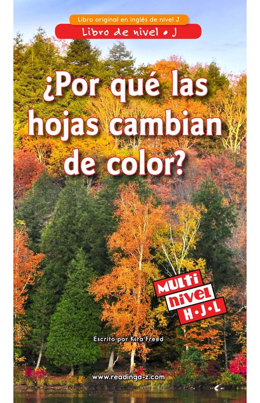 Book Preview For Why Do Leaves Change Color? Page 1