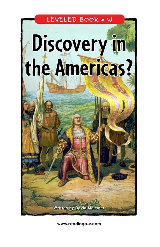 Book Preview For Discovery in the Americas? Page 1