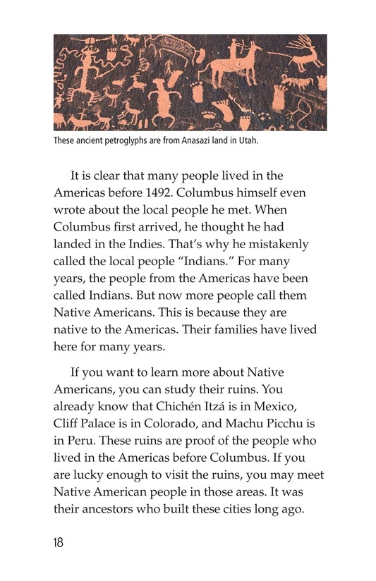 Book Preview For Discovery in the Americas? Page 18
