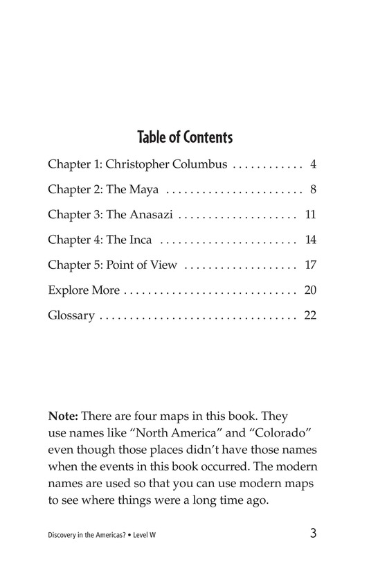 Book Preview For Discovery in the Americas? Page 3